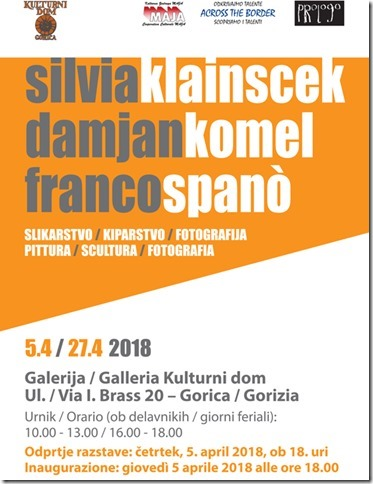 SILVIA KLAINSCEK, DAMJAN KOMEL e FRANCO SPANÒ